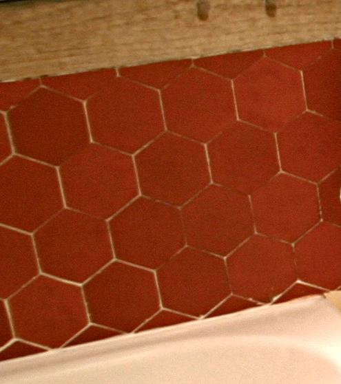 hexagonal terracotta tile buy rustic handmade terracotta tile hexagon tile green terracotta roof tiles product on alibaba com