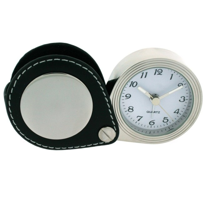 Leather Travel Clock Whole Price