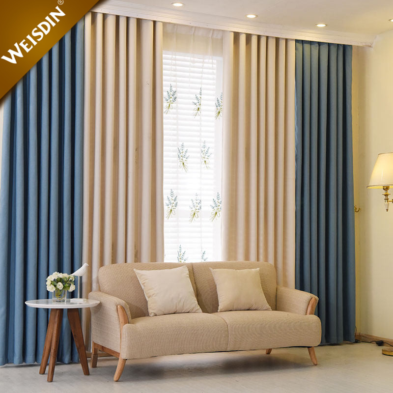 2017 latest curtain designs luxury plain solid color home office hotel window curtain for living room buy window curtain window curtain window