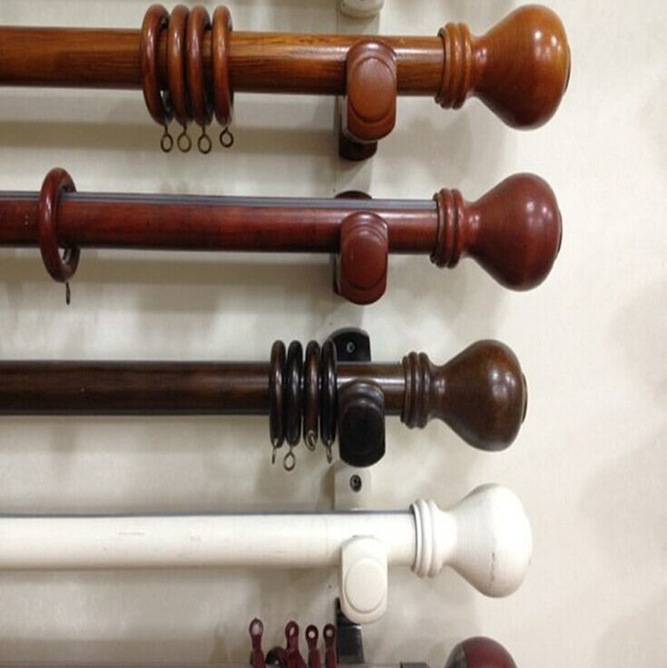 wood curtain rod with fashionable finals rings brackets include buy wood curtain rod double wood curtain rod wood curtain rod with finals product on