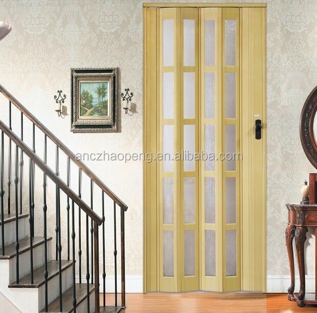 porte pliante en pvc de 12mm bon marche accessoire d ouverture pour salle de bains interieure buy porte pliante en pvc portes coulissantes pour