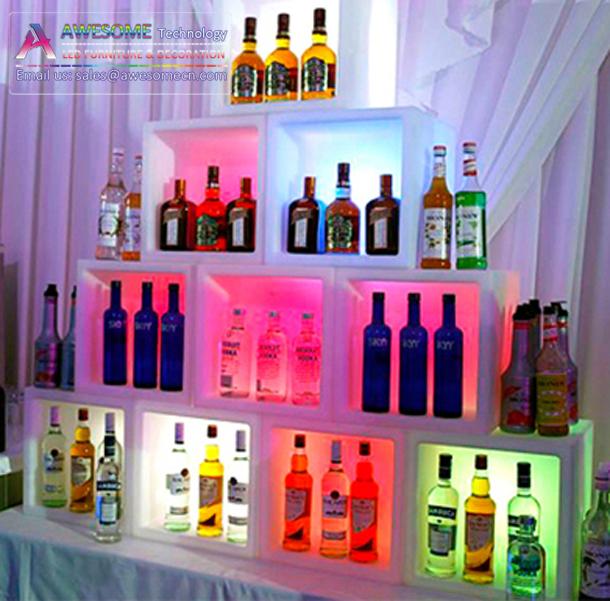 etagere murale en plastique carre cube pour bars bouteilles d exposition pour boite de nuit cb410 buy bouteille etagere murale en plastique cube