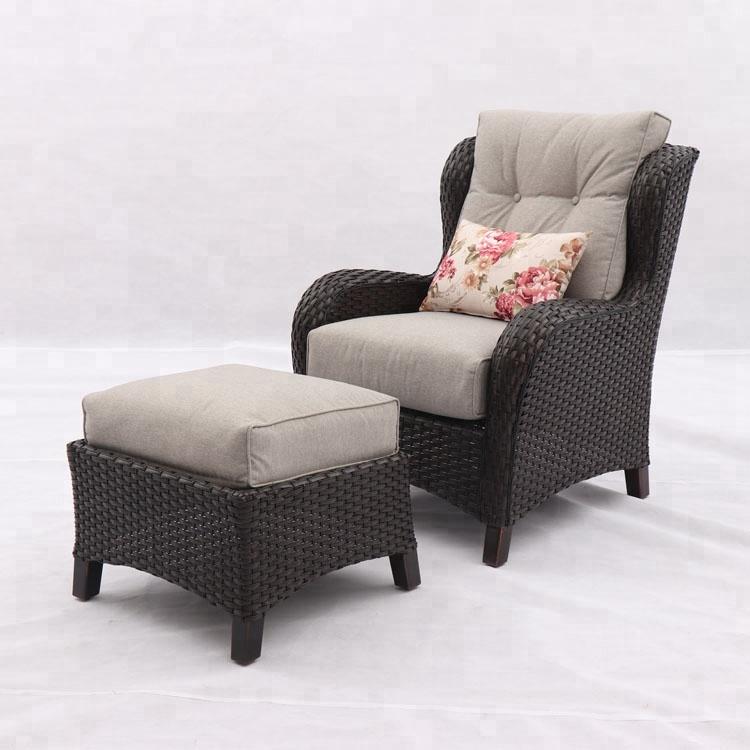 resin wicker patio furniture rattan armchair and ottoman buy armchair and ottoman rattan armchair and ottoman resin wicker patio furniture product