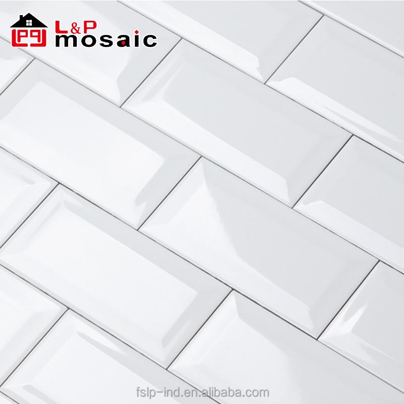 usa stylish white 4 x 8 subway tile ceramic for kitchen backsplash bathroom wall buy white 4 x 8 subway tile 4 x 8 subway tile subway tile kitchen