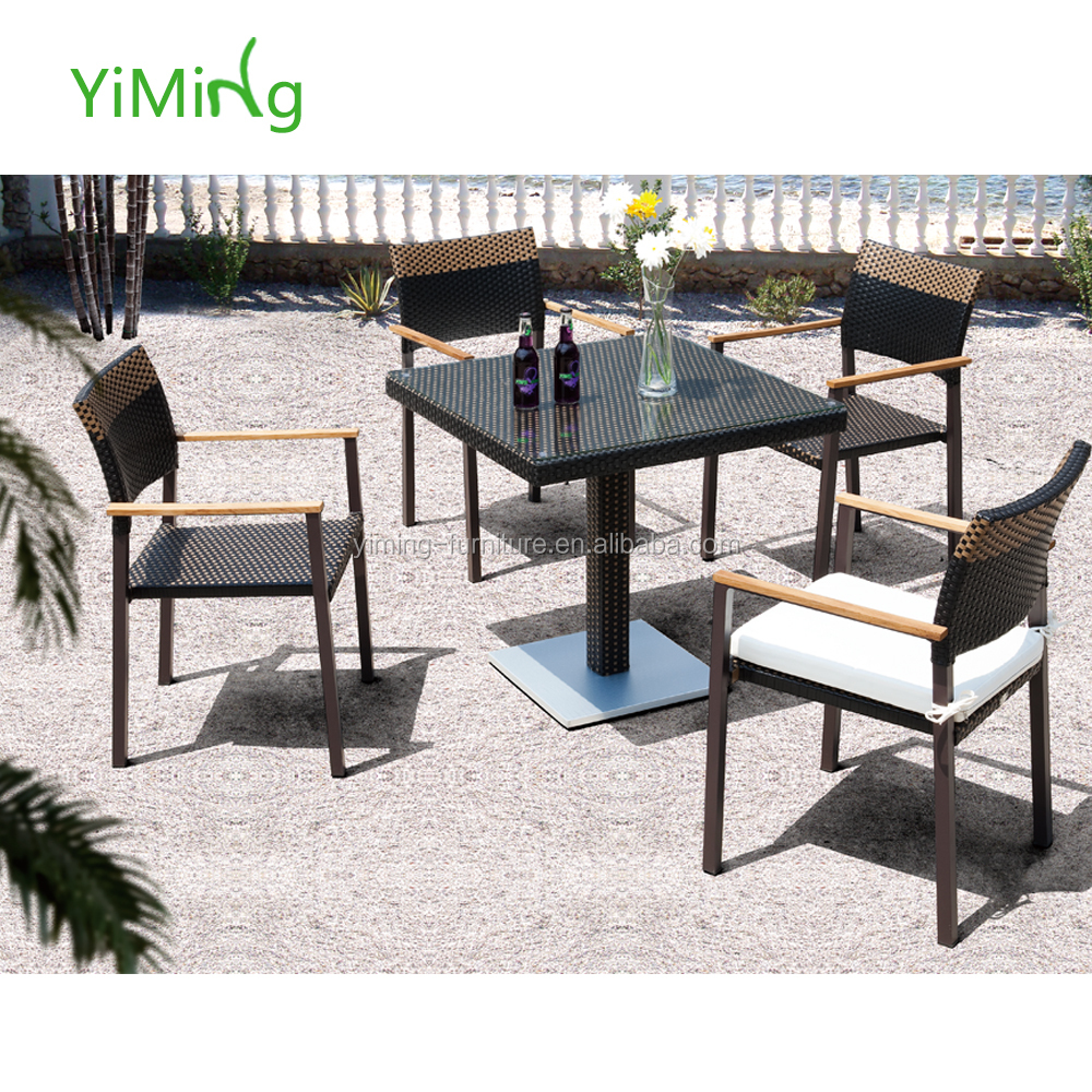 garden used tables and chairs for restaurant rattan outdoor pool furniture patio table buy modern design patio garden furniture outdoor aluminum