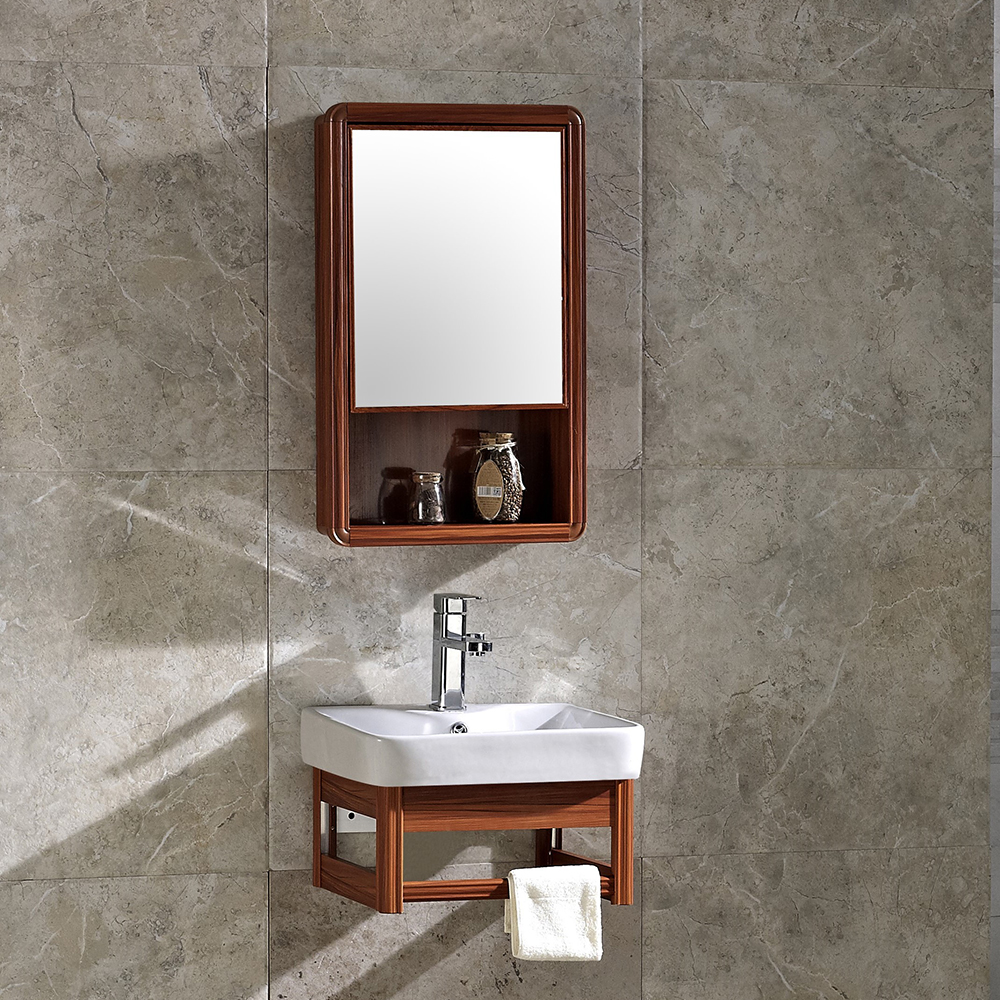new products 2018 aluminum bathroom sink cabinet hotel home goods cheap corner bathroom vanity cabinet with ceramic wash basin buy home goods