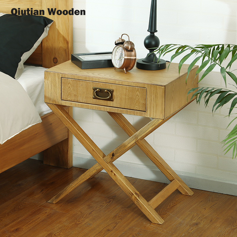 solid wooden bedside table bed room and wood nightstand modern classic chinese furniture buy wooden bedside table modern classic furniture wooden