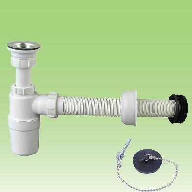 basin drainer kitchen sink drain waste pipe siphon bottle trap buy basin outlets wash basin drain pipe plastic kitchen sink drain pipe product on