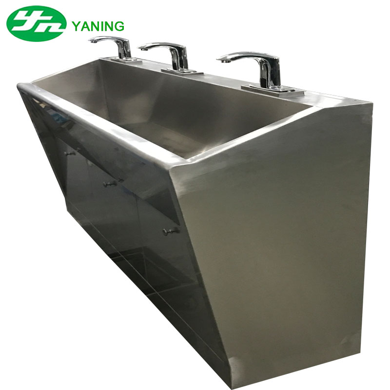 stainless steel hand wash basin sink for hospital view hand wash basin sink yaning product details from dongguan yaning purification technology co