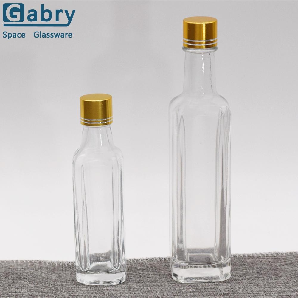 bouteille en verre couleur ambre pour huile d olive de forme carree offre speciale 500ml 24 ml buy bouteille d ambre bouteille d huile