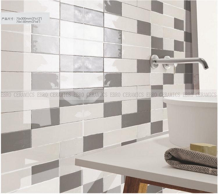 ebro gloss and matt small size colored ceramic tile designs small bathroom tile spanish wall and floor 10x30cm buy bathroom tile spanish ceramic