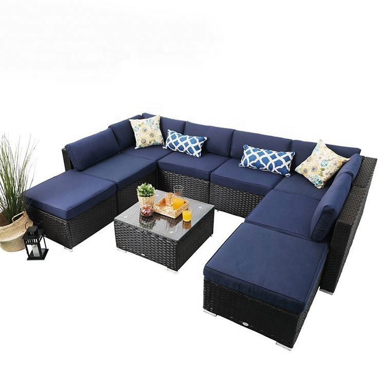 better homes gardens black and white 7pc rattan red 7 patio set 5 piece outdoor blue wicker furniture buy blue wicker furniture 5 piece wicker