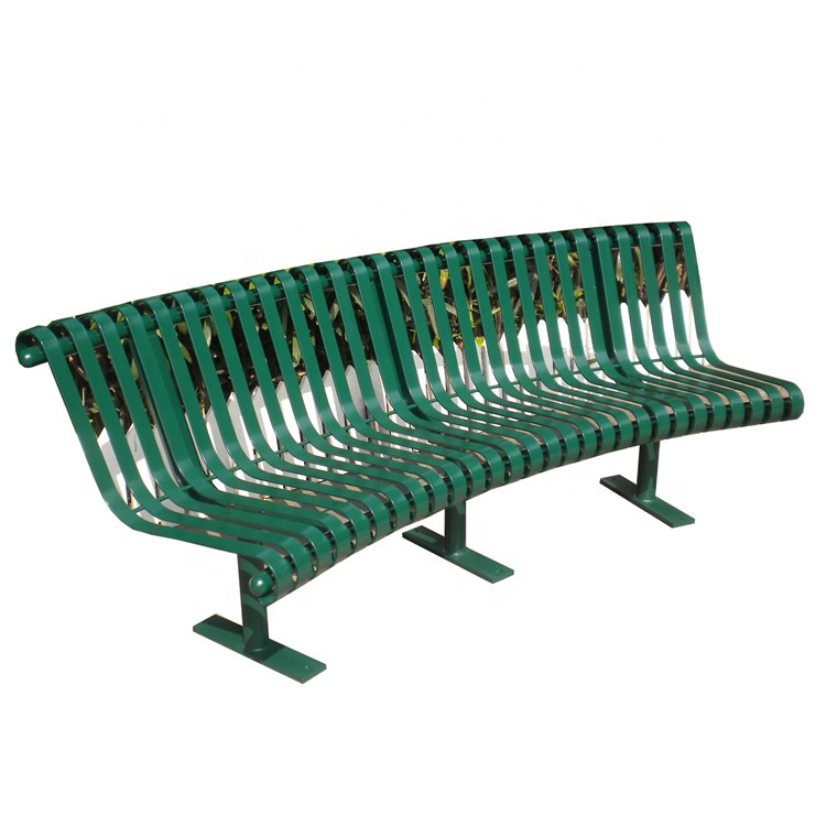 powder coated steel curved outdoor bench metal park bench size buy park bench size curved outdoor bench metal park bench product on alibaba com