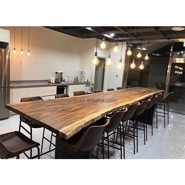 customized long whole piece tree log walnut wood slab walnut slab live edge table top dining tables buy dining tables live edge dining