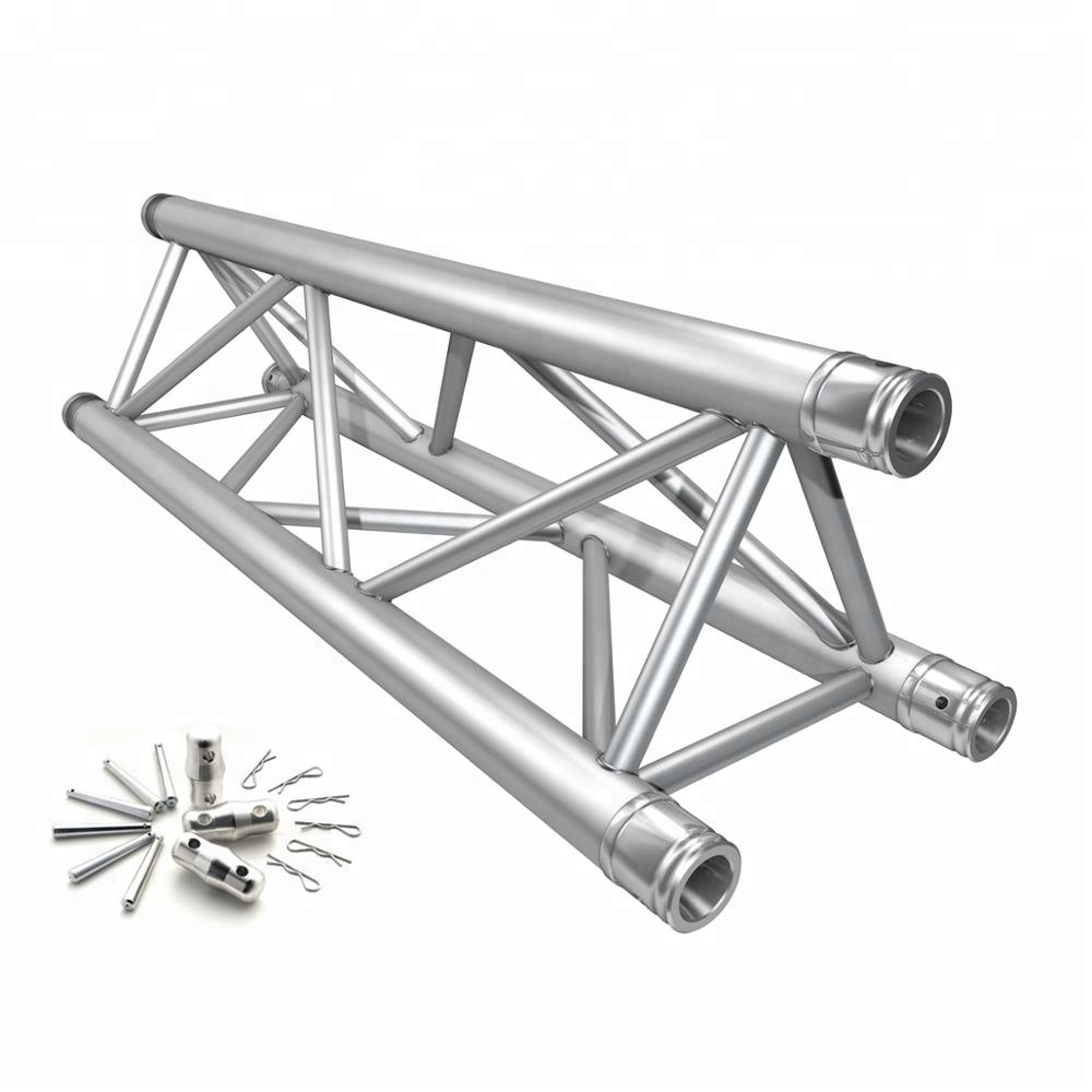 on sale aluminium triangle lighting truss system flat truss buy triangle for lights moving truss light system global truss system product on