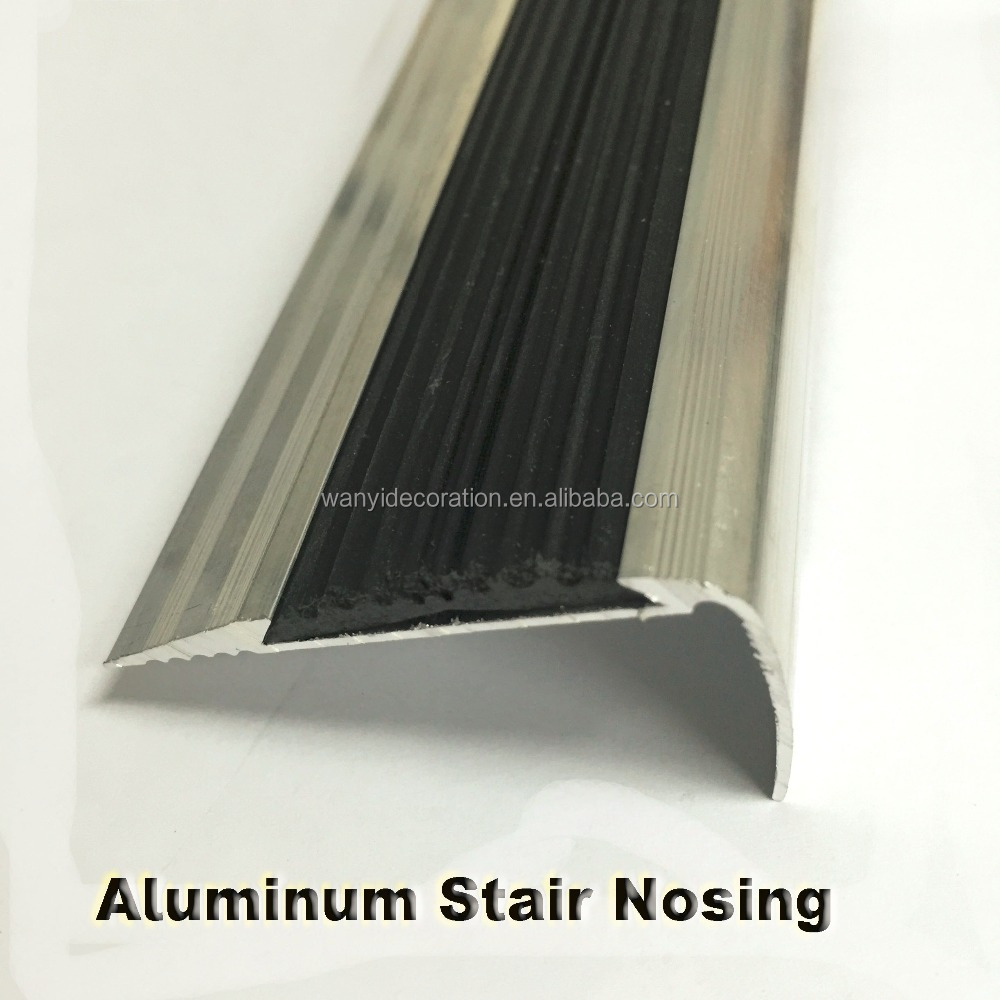 aluminum and rubber stair nose tile edging trim buy stair nosing profile stair nose tile edging trim aluminum and rubber stair nose tile edging trim