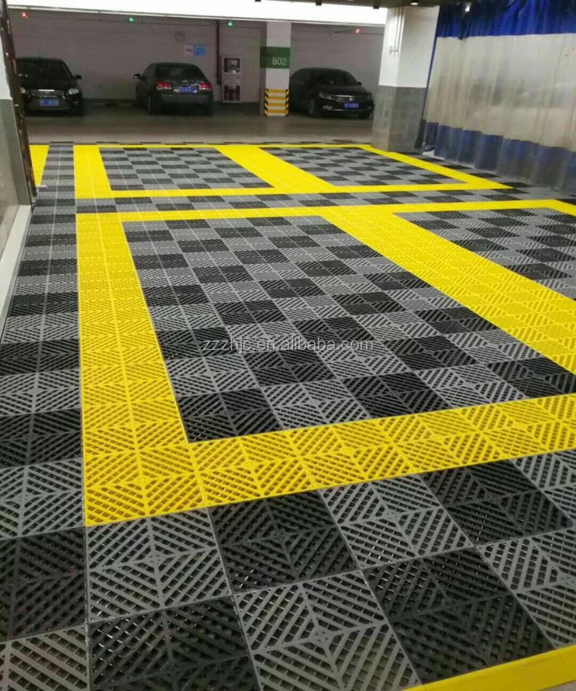 durable parking hot sell pp garage interlocking car wash plastic floor tiles buy plastic interlocking floor tiles car wash floor tiles garage floor