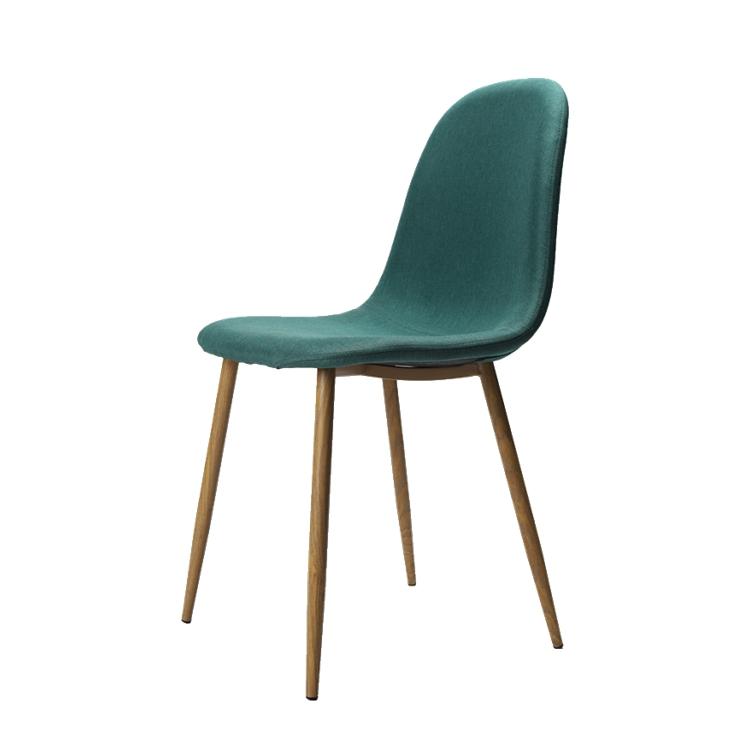chaise de salle a manger en tissu noyer pieds en metal couleur enfants offre speciale alibaba buy tissu dinant la chaise vente chaude tissu dinant