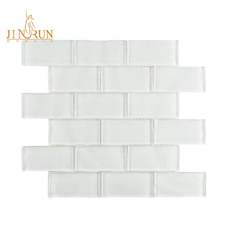 white texture rectangular glass subway tile buy glass subway glass subway mosaic bumpy mosaic tile glass product on alibaba com