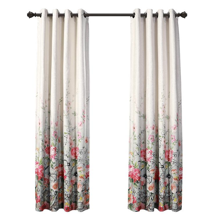 amazon hot sale latest design printing blackout living room curtains buy living room curtains blackout curtains printing curtains product on