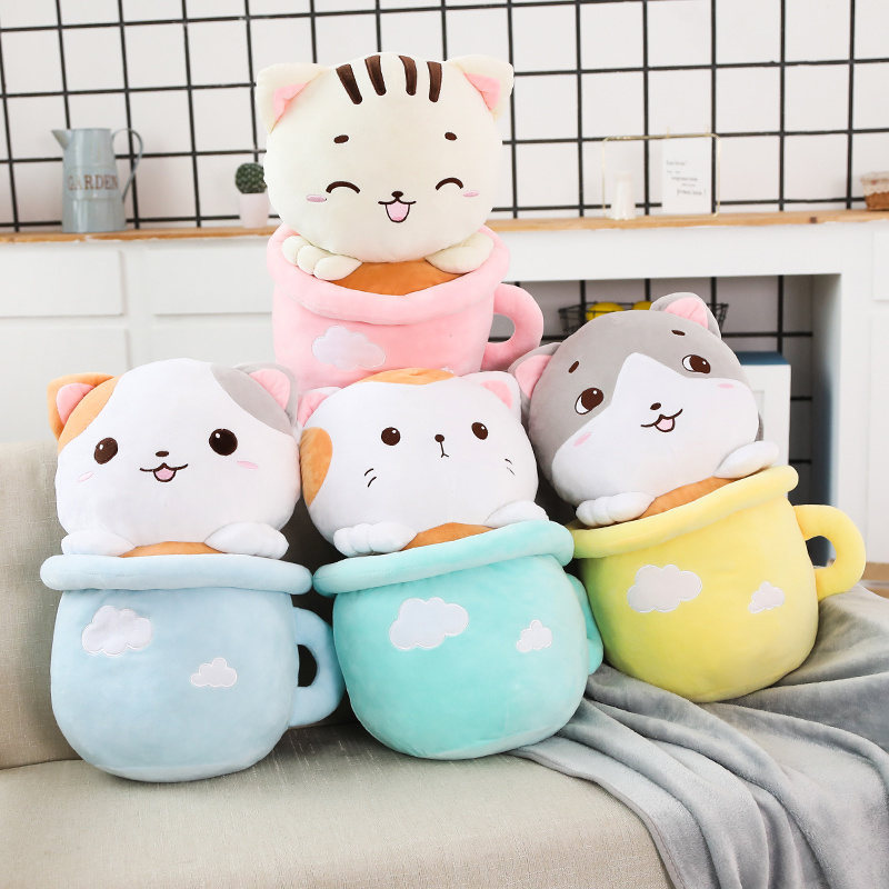wholesale cute stuffed cat plush pillow multifunction 3 in 1 throw pillow soft 3 in 1 pillow blanket buy 3 in 1 pillow blanket plush pillow multifunction 3 in 1 throw pillow pillow