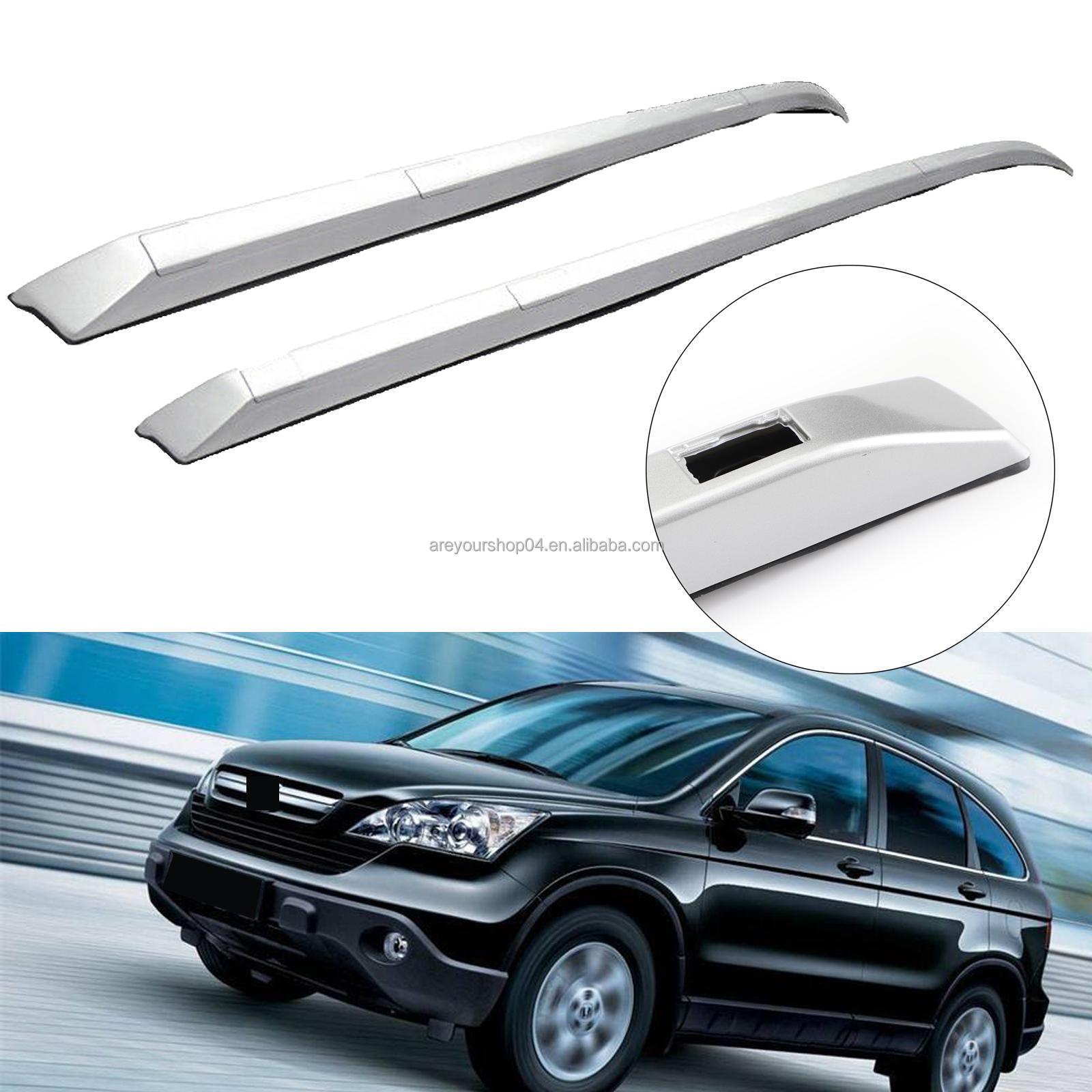 areyourshop pair roof rack rail bar silver factory style cr v fits for honda crv 2012 2013 2014 2015 2016 buy for honda cr v 2012 13 14 15 2016 top