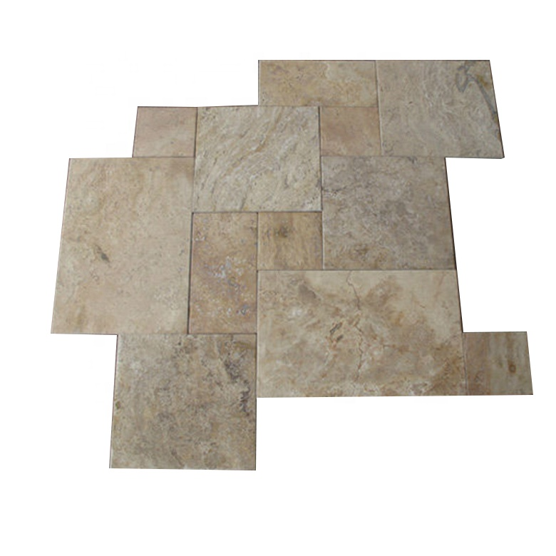 tumble travertine ivory versailles pattern outdoor yard swimming pool decking coping travertine tile buy french pattern travertine tile travertine marble stone versailles pattern flooring tile light ivory travertin frost suitable travertine paver product
