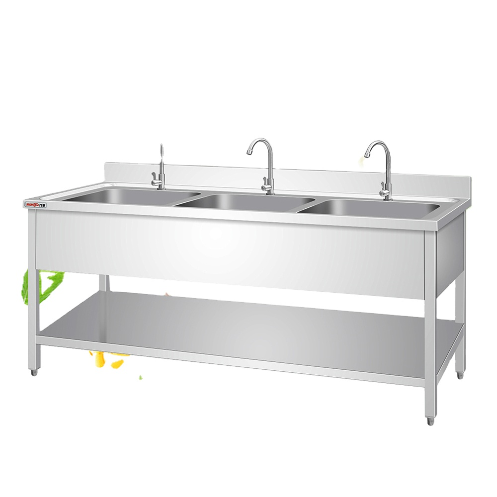 square legs kitchen sink table stainless steel working table with wash sink restaurant fish cleaning sink bench factory buy square legs kitchen sink