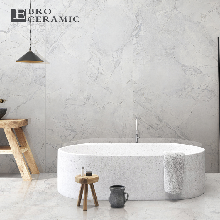 ebro ceramic light grey marble tile large porcelain slabs floor tiles 918am01 buy big size tiles large porcelain slabs floor tile product on