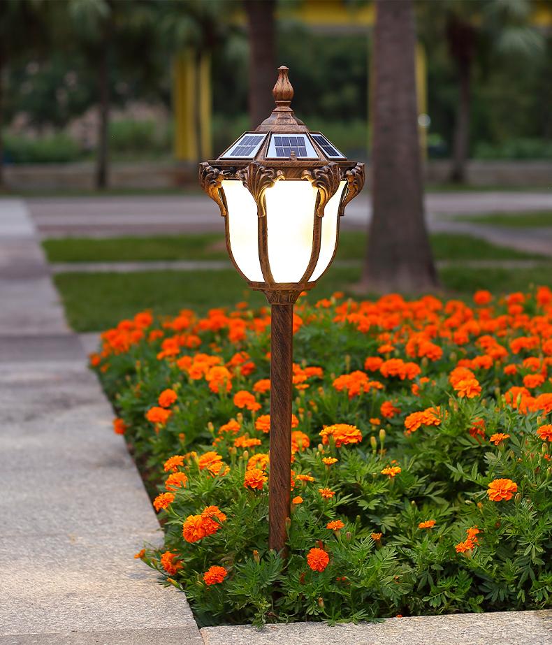mini type solar engry street garden lamp post waterproof buy solar light light pole garden patio lamp post outdoor lighting pole product on