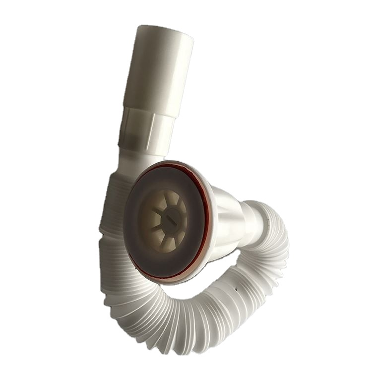basin and kitchen sink extension drain pipe flexible shrink waste drain pipe buy extension drain pipe basin and kitchen sink pipes shrink waste