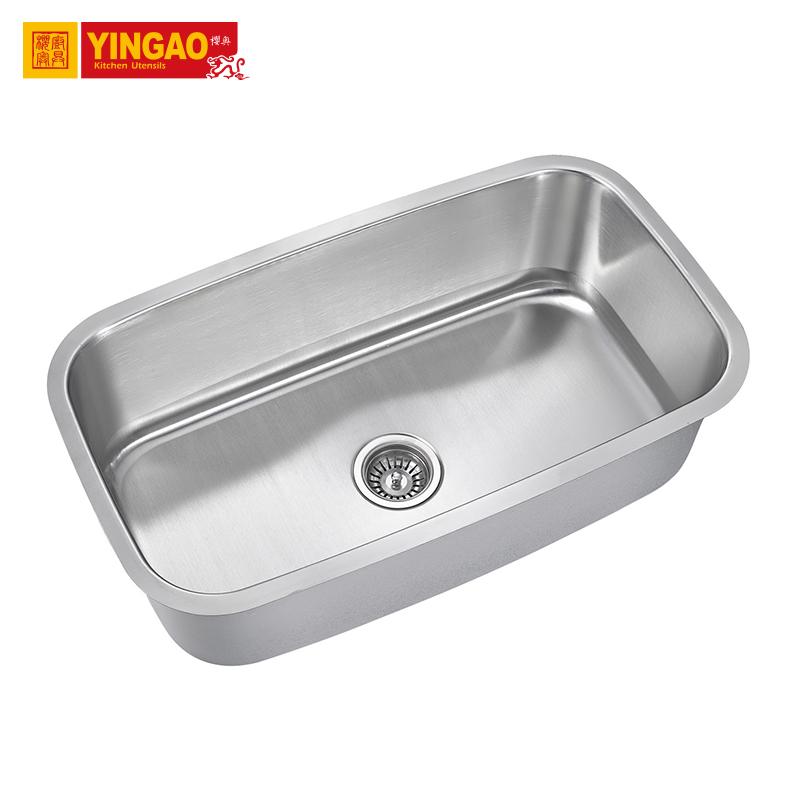 3118america standard undermount home kitchen deep single bowl sus 304 sink buy sus 304 sink home kitchen sink deep single bowl kitchen sink product