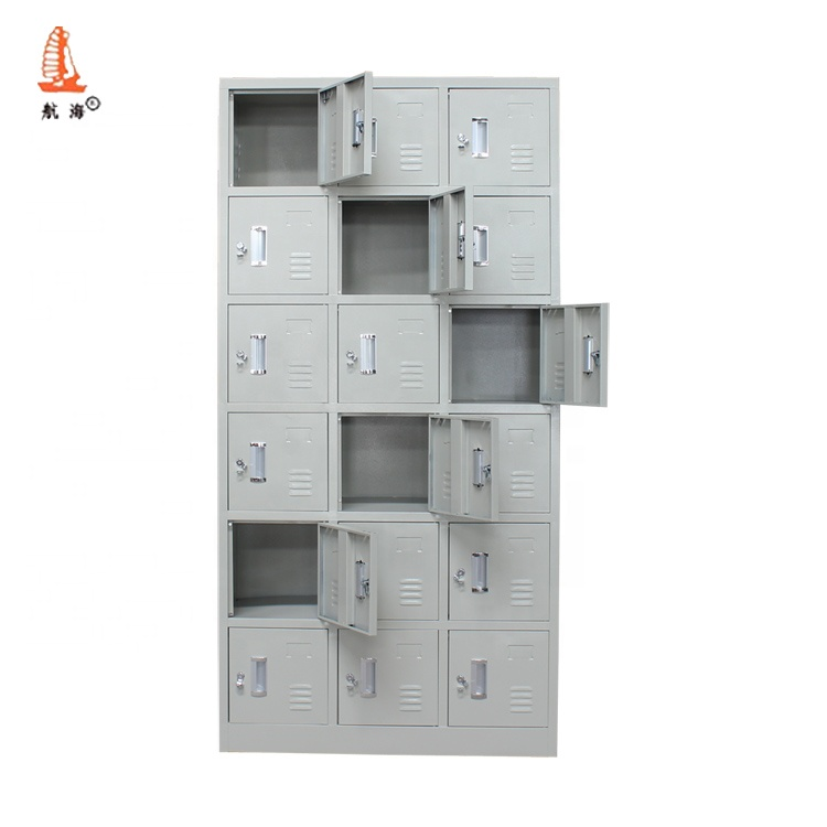magasin de chaussures de meubles chinois 18 portes en acier casier pour chaussures en metal tres bon marche 2020 buy casier de chaussures en acier