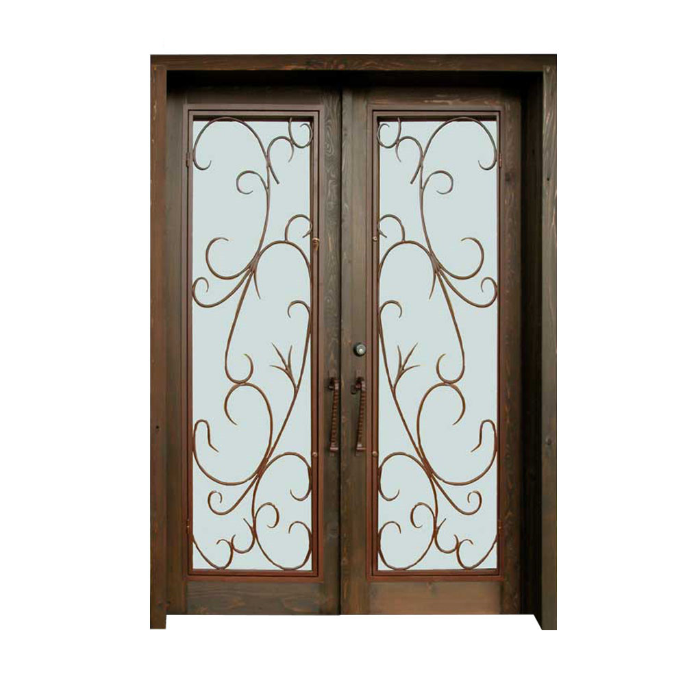 french style lowes exterior wooden frame wrought iron glass entrance door price view entrance doors in iron and glass willsun product details from