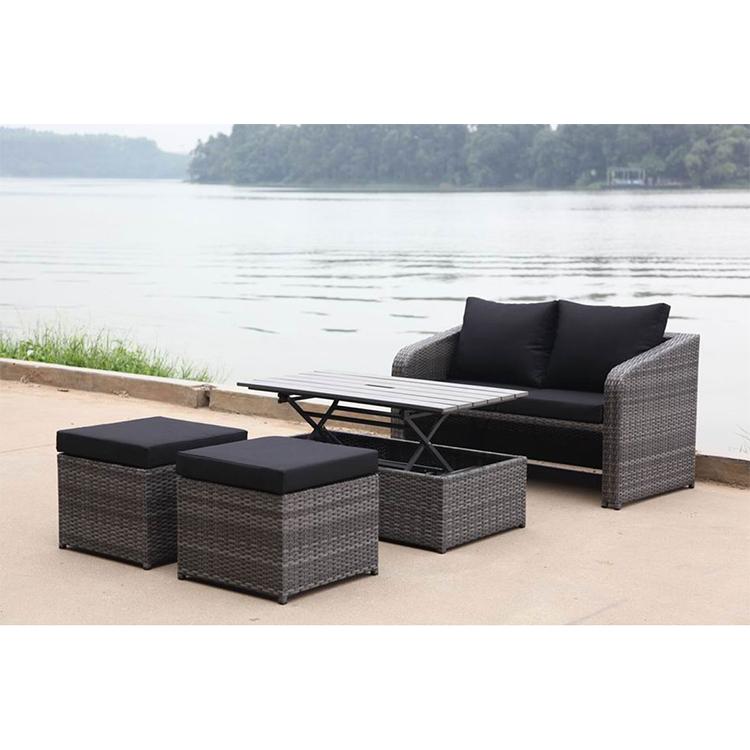 uland black modern outdoor furniture rattan outdoor sofa set custom patio furniture outdoor sofa set buy modern outdoor furniture rattan outdoor