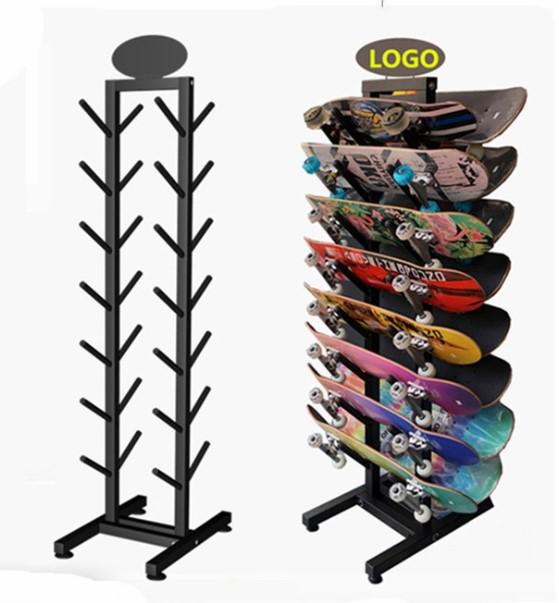 powder coating steel skateboard display rack with wheels storage rack buy stainless steel display with wheels skateboard rack skateboard storage