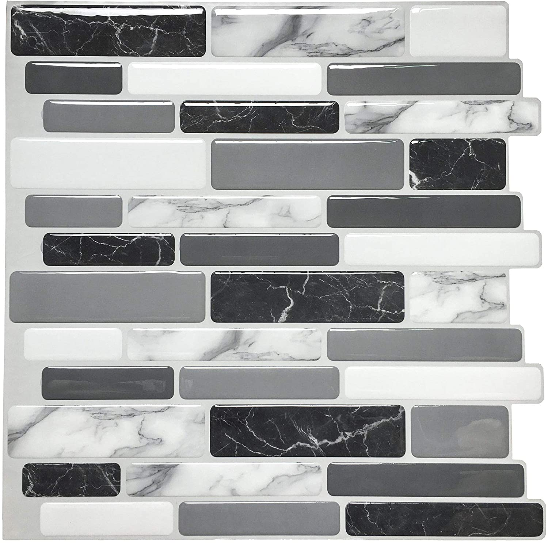 mosaic 3d self adhesive stick on vinyl s wall tiles stickers marble kitchen peel and stick tiles backsplash buy self adhesive subway tile bathroom peel and stick tile ceramics wall tiles product on alibaba com