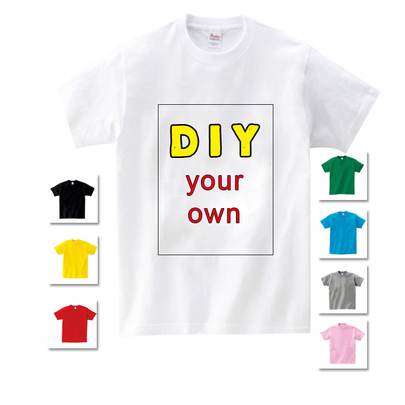 Customized Print T Shirt Kids Tees Baby Birthday T Shirt Your Own Design T Shirts School Shirt For Boy Girls Clothes Children S Buy Custom Made T Shirt High Quality T Shirt T Shirts Product