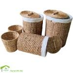 Vietnam Crafts Handmade Washing Basket Water Hyacinth Wicker Laundry Hampers Buy Wicker Laundry Hampers Rectangular Laundry Hamper Round Laundry Hamper Product On Alibaba Com
