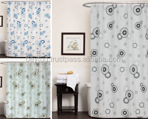 100 polyester printed extra long made in turkey waterproof shower curtain buy print shower curtain polyester shower curtain print hookless shower curtain product on alibaba com