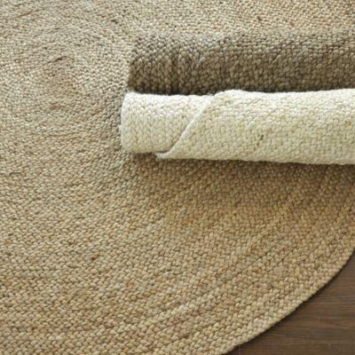 naturel jute tapis rond buy chanvre