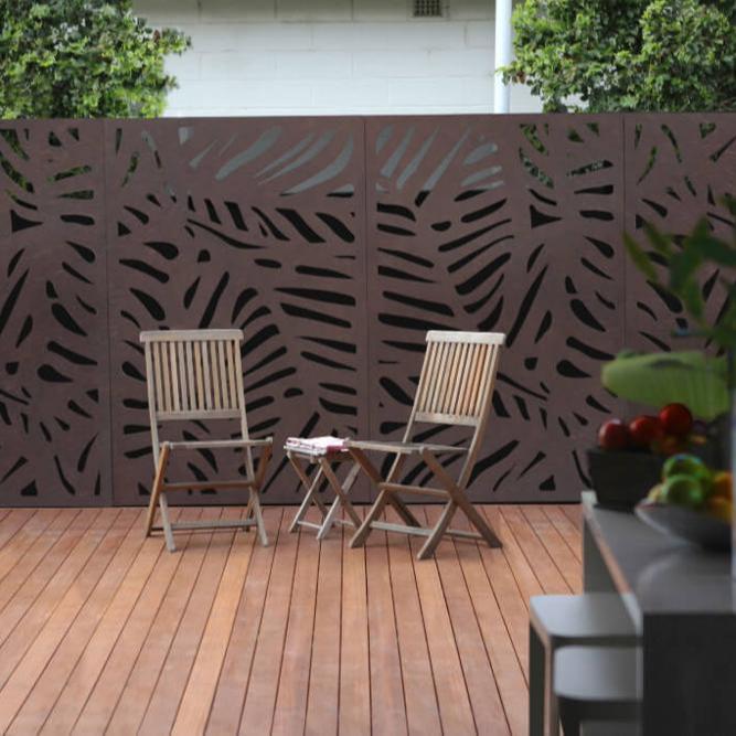 outdoor decoration metal screen dividers decorative laser cut panels buy laser cut fencing panels decorative sheet metal panels decorative metal