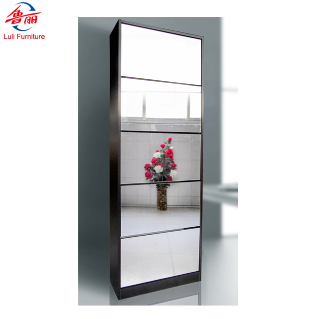 moderne en bois armoire a chaussures avec miroir buy armoire a chaussures miroir armoire a miroir rotatif armoire de rangement en bois a roulettes