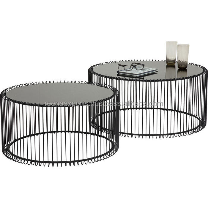 wire black coffee table buy wire coffee table metal drum coffee table used coffee tables for sale product on alibaba com