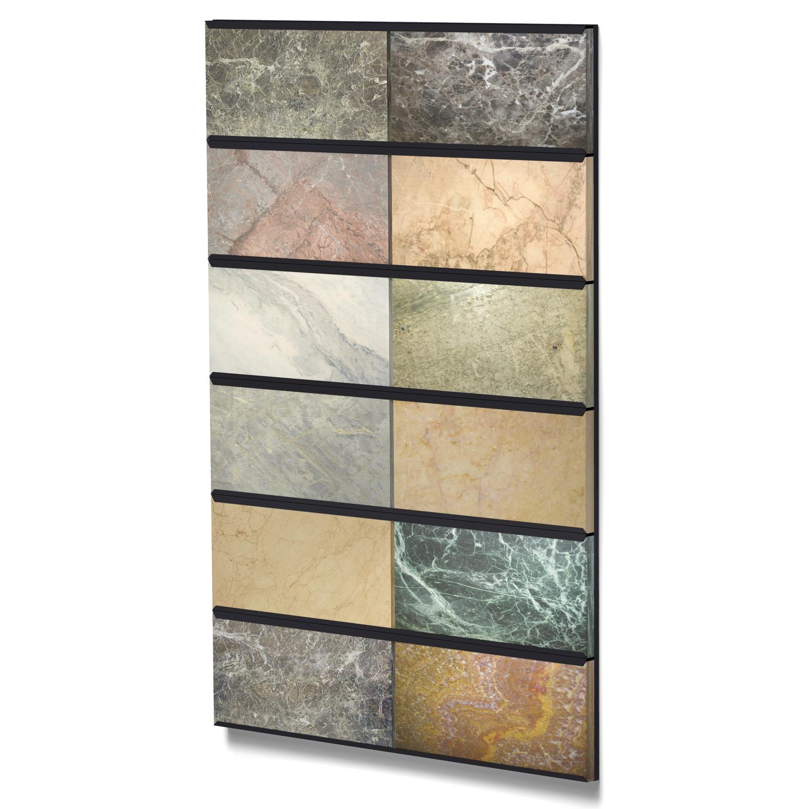 showroom wall mounted slide mosaic tile display ceramic rack buy ceramic tiles display stand wall mount display rack ceramic tiles metal shelf