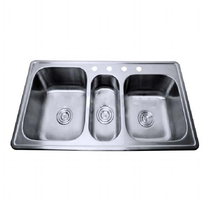 topmounted stainless steel sus 304 triple bowl kitchen sink buy cupc stainless steel kitchen wash basin sus 304 stainless steel