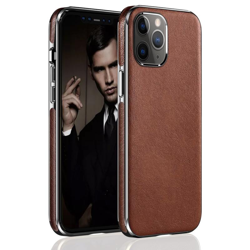etuis de protection en cuir brun pour iphone 12 pro max 11 pro max populaire sur marche haut de gamme buy etui de telephone pour iphone 12 premium