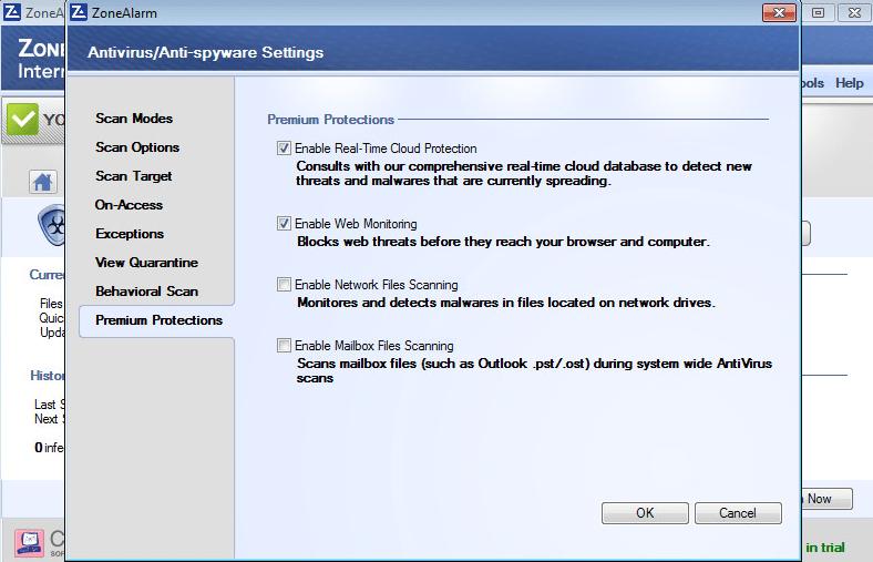 Zonealarm Security System
