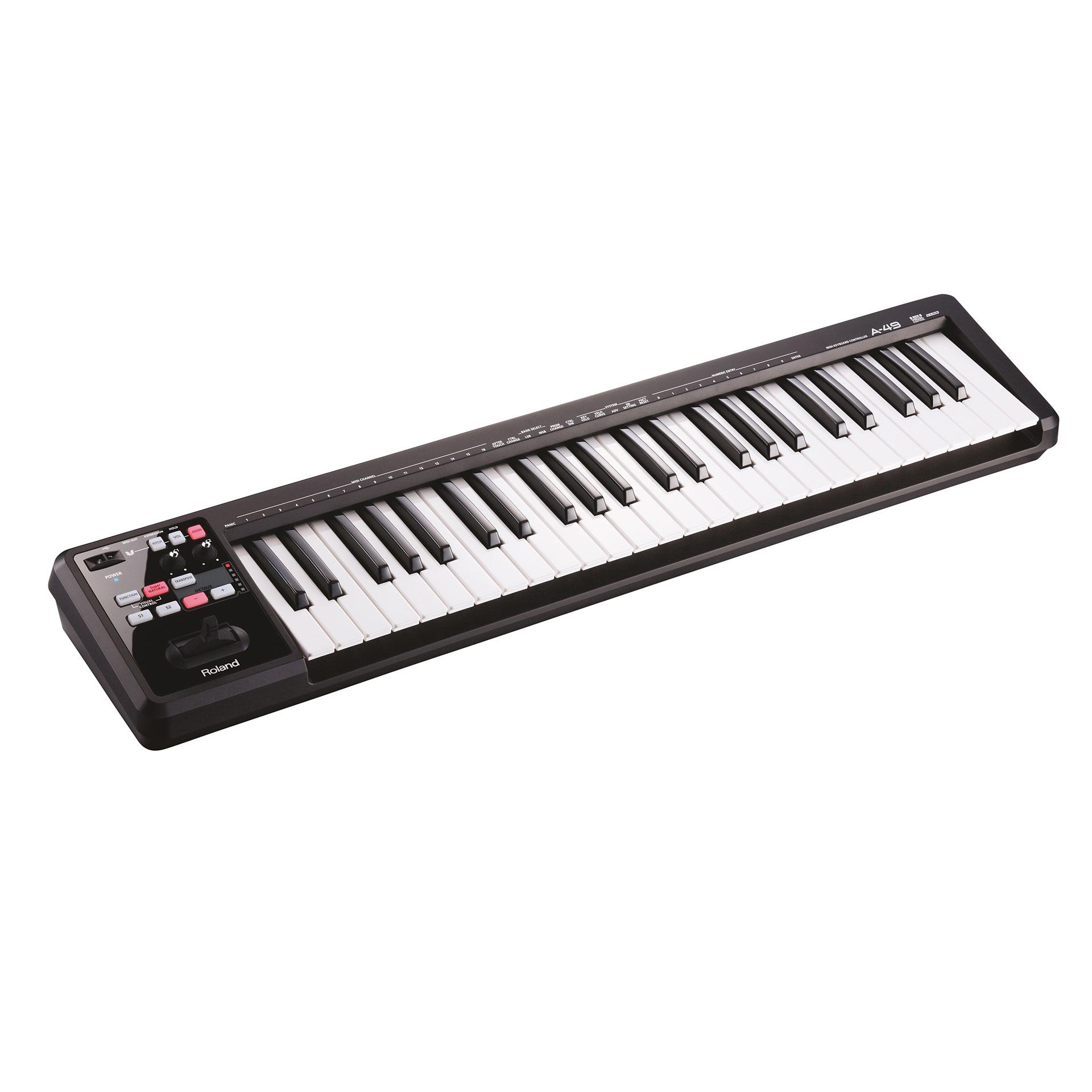 Roland A 49 Bk Master Keyboard