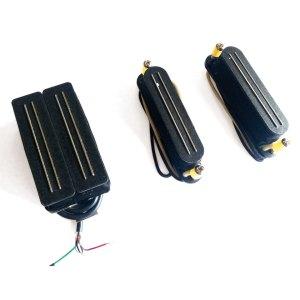 Bare Knuckle HSS Black HawkCobra Set « Electric Guitar Pickup